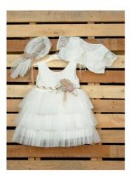 c13378f31bdb Βαπτιστικο ρούχο κοριτσι. Επώνυμο βαπτιστικό ...